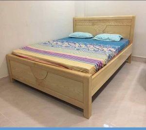 Giường ngủ gỗ sồi 1m6 x 2m MS A2