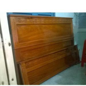 Giường ngủ gỗ căm xe 1.8 m x 2m