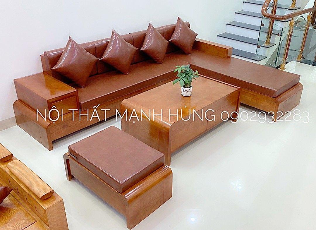 Sofa gỗ sồi 2.8m x2m