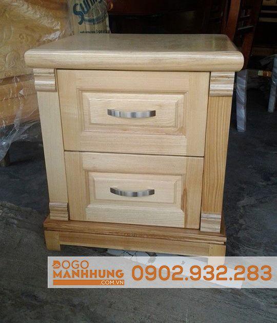 Tủ đầu giường gỗ sồi nga