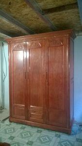 Tủ quần áo gỗ xoan đào 3 cánh M91